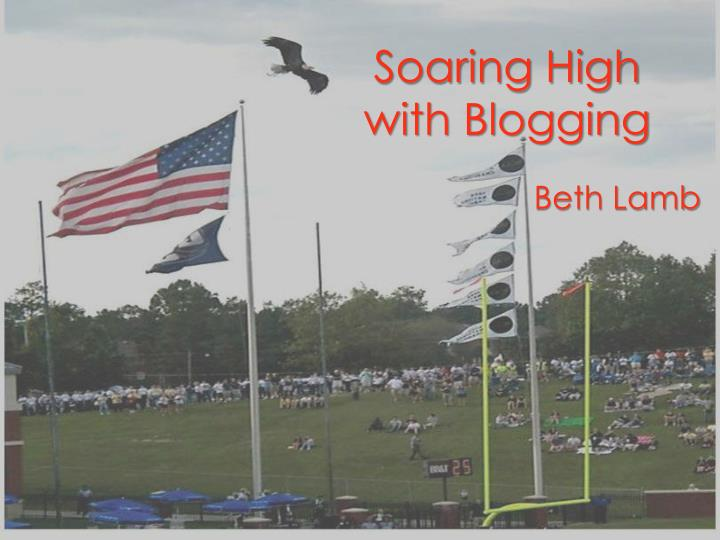 soaring high with blogging n.