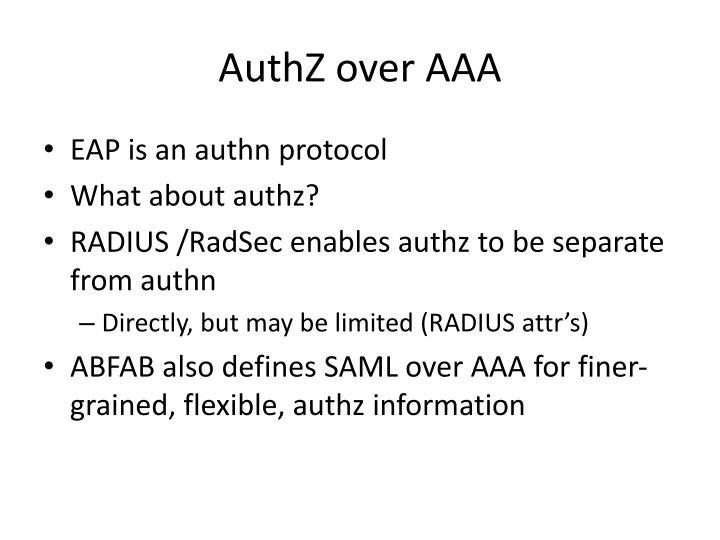 AuthZ