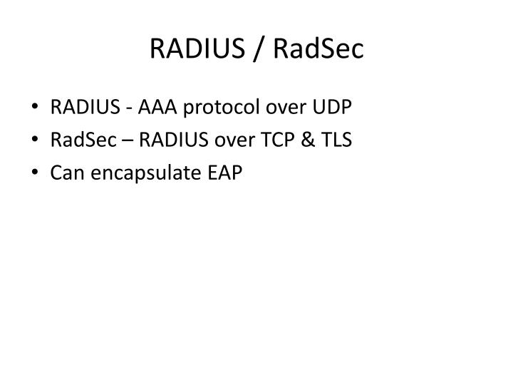 RADIUS /