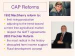 cap reforms