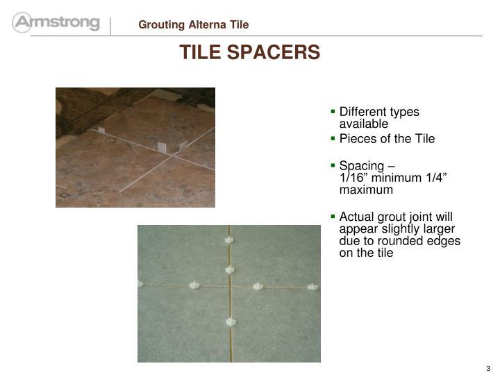 Grouting alterna tile1