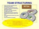 team structuring
