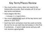 key term places review