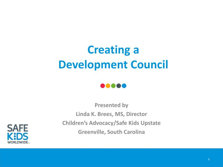 creating a development council n.