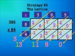 strategy 2 the lattice21