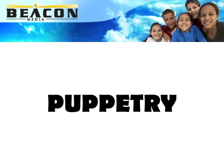 puppetry n.