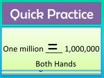 quick practice