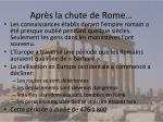 apr s la chute de rome