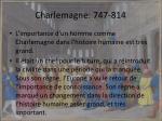 charlemagne 747 814
