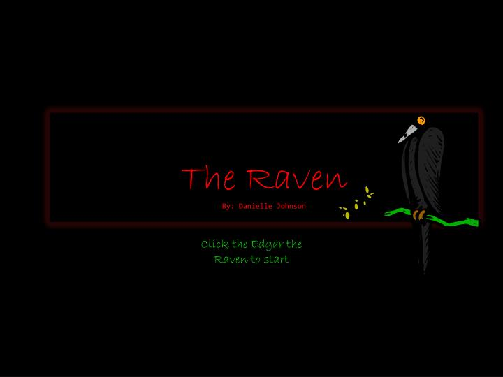 the raven by danielle johnson n.