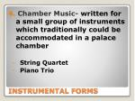 instrumental forms1