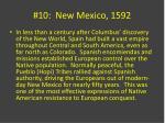 10 new mexico 1592