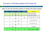 example 6 find the product of 2 3 and 4 55