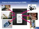 future of telemonitoring in copd