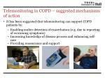 telemonitoring in copd suggested mechanisms of action2