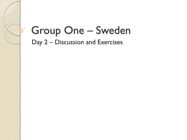 group one sweden n.
