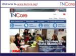welcome to www tncore org