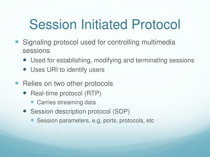 Session Initiated Protocol