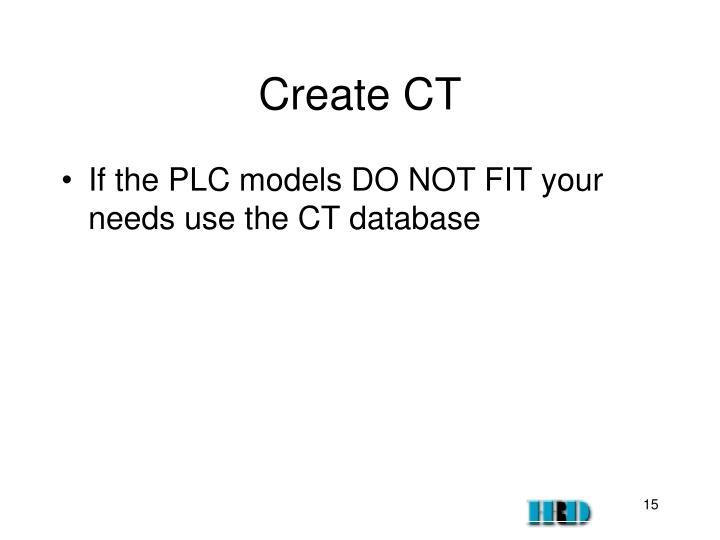 Create CT