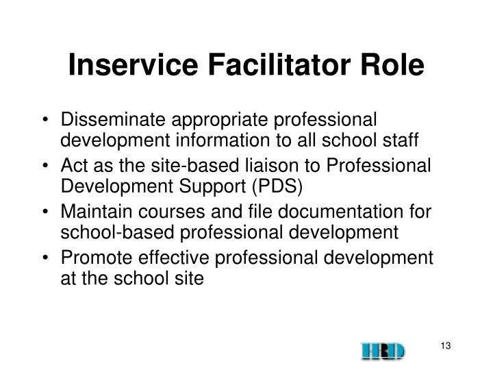 Inservice