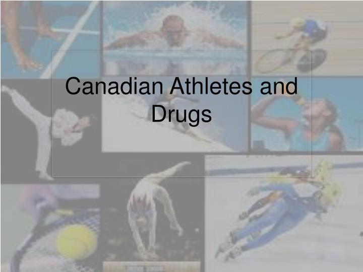 canadian athletes and drugs n.