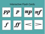interactive flash cards