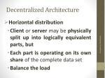 decentralized architecture1