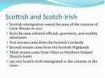 scottish and scotch irish
