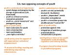 3 b two opposing concepts of youth