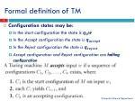 formal definition of tm2