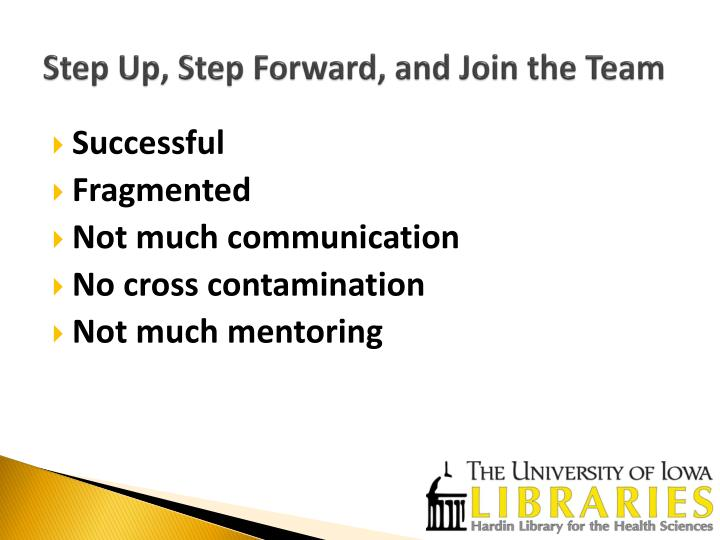 Step up step forward and join the team1
