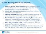 pcmh recognition standards