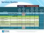 services quotes