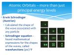 atomic orbitals more than just principal energy levels