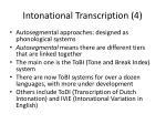 intonational transcription 4