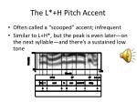 the l h pitch accent1