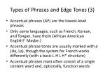 types of phrases and edge tones 3