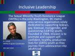 inclusive leadership