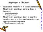 asperger s disorder