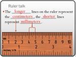 ruler talk