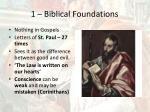 1 biblical foundations