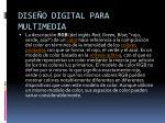 dise o digital para multimedia