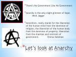let s look at anarchy