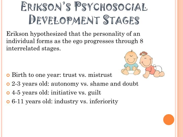 Autonomy Vs Shame And Doubt Eriksons Stages Of Development Essay