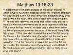 matthew 13 18 23