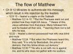 the flow of matthew1