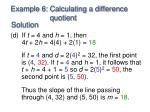 example 6 calculating a difference quotient3