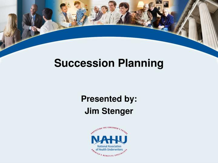 succession planning n.