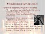 strengthening the conscience1