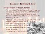 talent of responsibility2